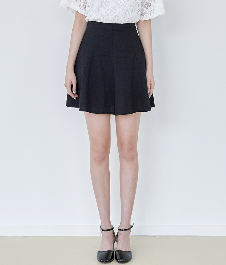 ROMANTIC MUSEFlared Mini Skirt