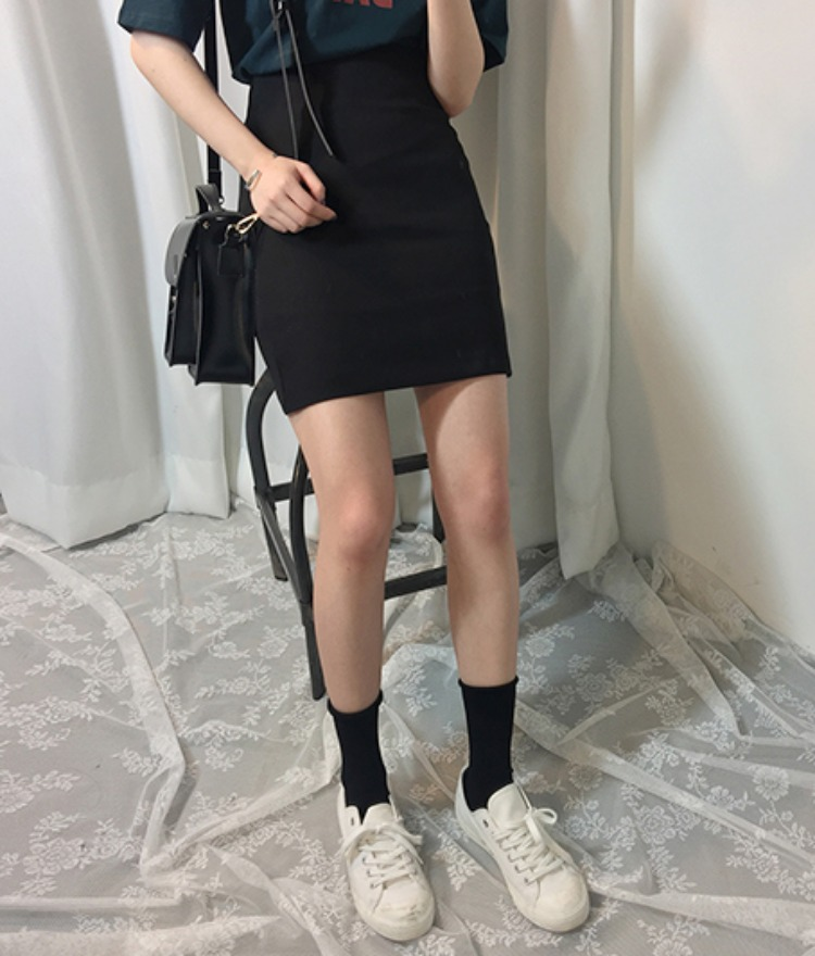 ESSAYHigh Waist Mini Skirt