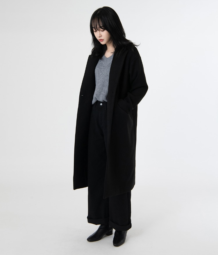 ESSAYWool Blend Lined Coat