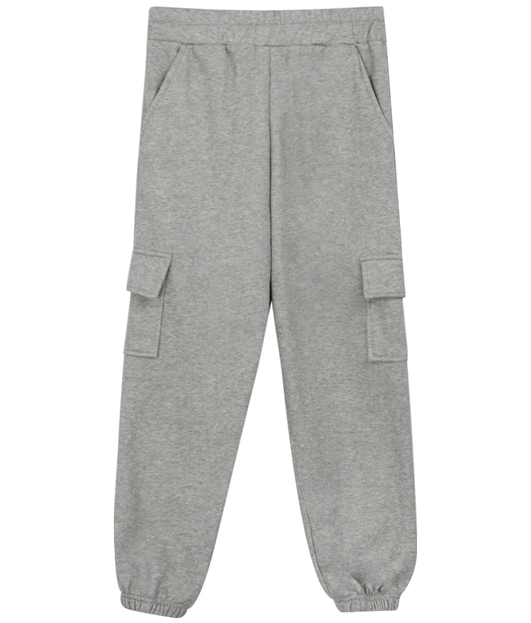 QUIETLABFleece-Lined Cargo Pocket Jogger Pants