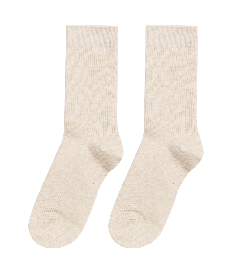 ESSAYRibbed Panel Cotton Socks