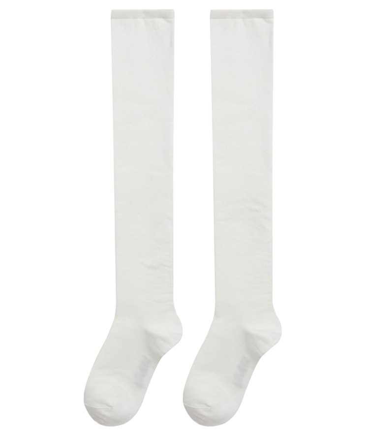 ESSAYSolid Tone Knee-High Socks