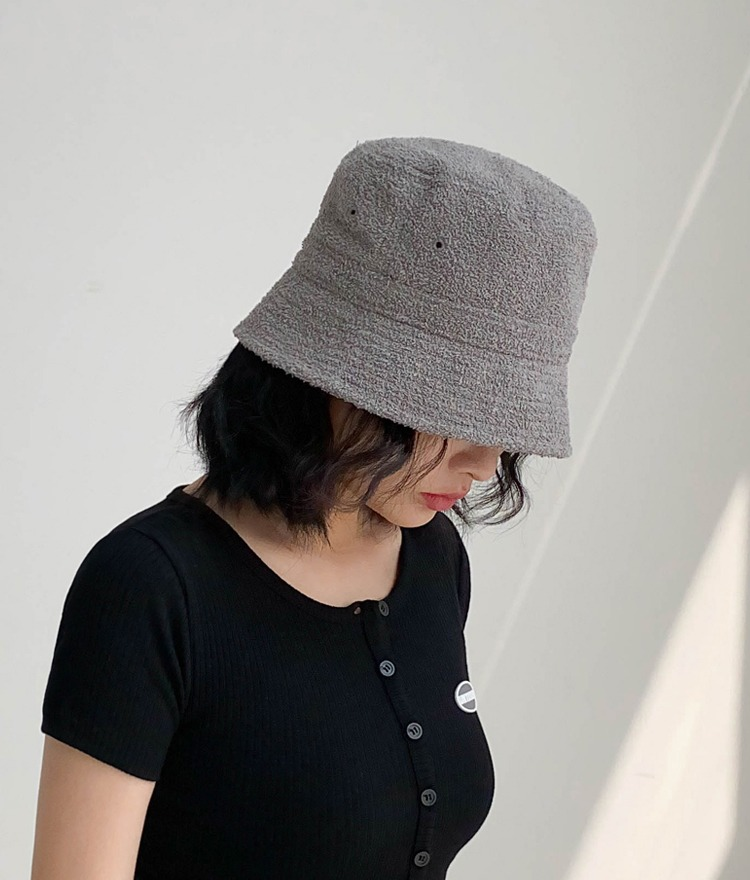 NEVERM!NDFuzzy Bucket Hat
